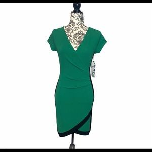 NWT Almost Famous V-Neck Short Sleeve Dress
